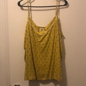 XL Old Navy yellow top